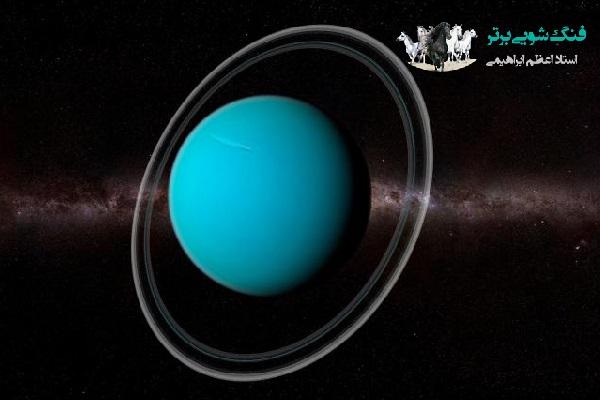 نمای اورانوس در فضا
